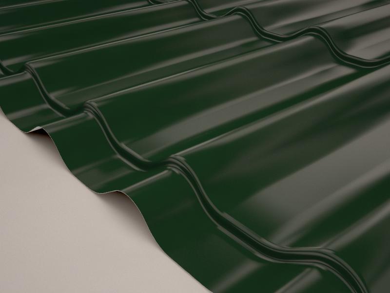 Зеленый темный (RAL 6020)