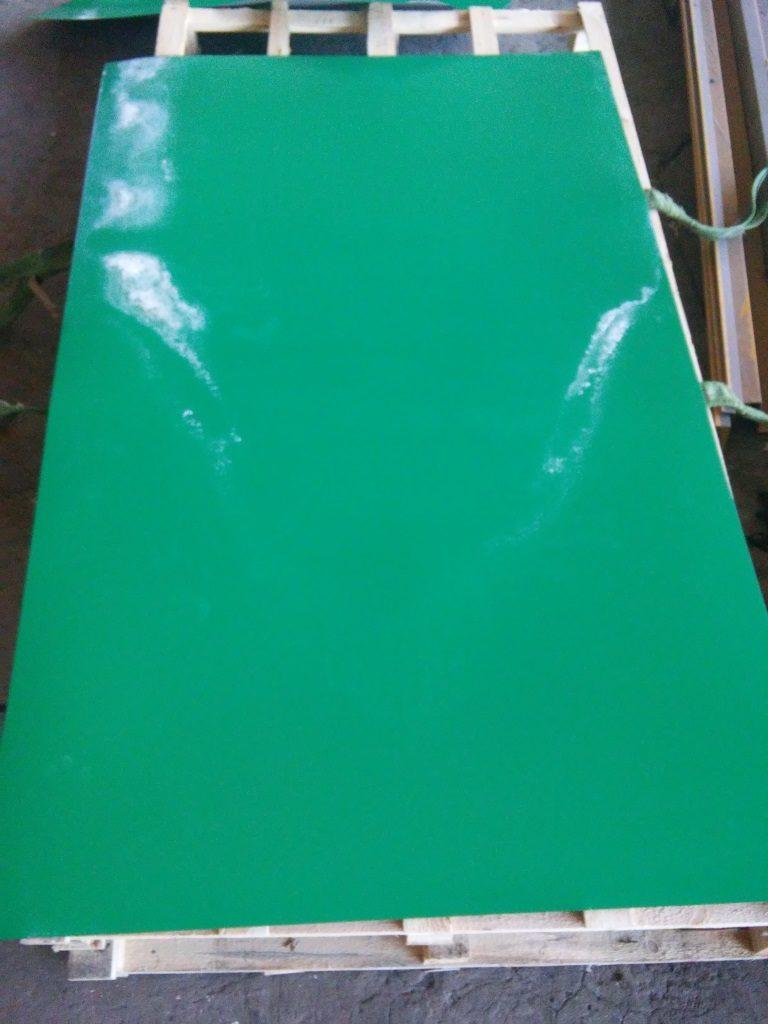 Сульфатация на полимерном покрытии
