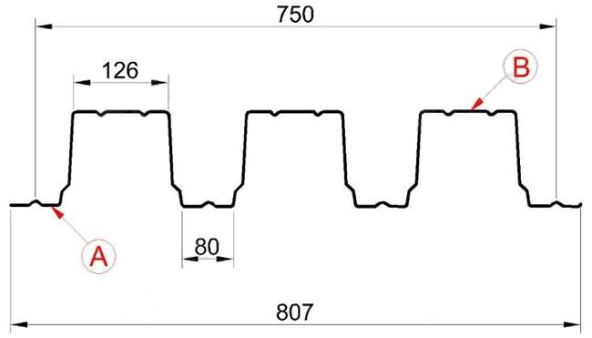 Профнастил несущий Н-114