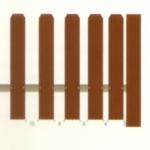 Частота установки штакетника