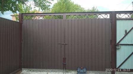 Внутренняя отделка ворот