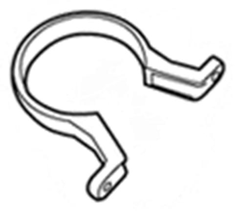 Хомут трубы пластиковый