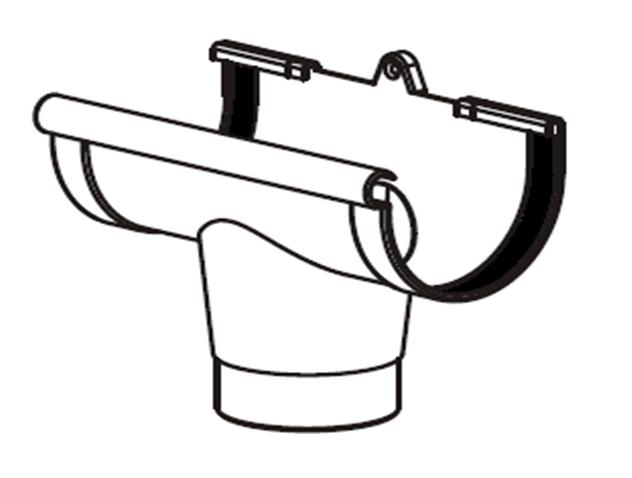 Воронка желоба водосточной системы