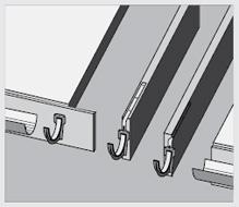 Крепление металлических удлинителей кронштейна желоба